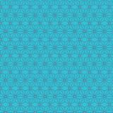 Tissu imprimé gamme asanoha bleu - 64