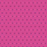 Tissu imprimé gamme asanoha fushia - 64