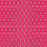 Tissu imprimé gamme asanoha grenadine - 64