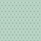 Tissu imprimé gamme asanoha menthe - 64