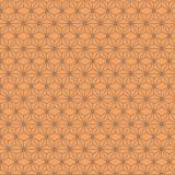 Tissu imprimé gamme asanoha papaye - 64