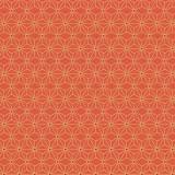 Tissu imprimé gamme asanoha paprika - 64