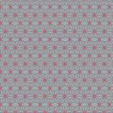 Tissu imprimé gamme asanoha rubis - 64
