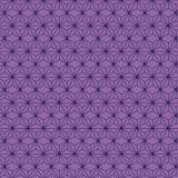 Tissu imprimé gamme asanoha ultraviolet - 64