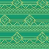 Tissu imprimé gamme azteque bourgeon - 64