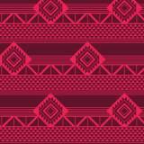 Tissu imprimé gamme azteque grenadine - 64