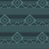 Tissu imprimé gamme azteque lagon - 64