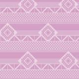 Tissu imprimé gamme azteque lilas - 64