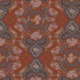 Tissu Baltes roux - 64