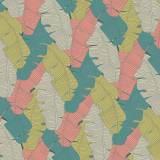 Tissu imprimé gamme bananier bourgeon - 64
