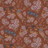 Tissu Boheme roux - 64