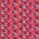 Tissu Bouquet coquelicot - 64