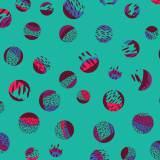 Tissu imprimé gamme bulles - 64