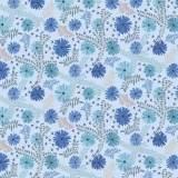 Tissu Daisy bleuet - 64