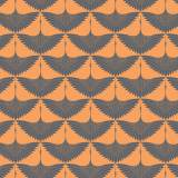 Tissu imprimé gamme envol papaye - 64