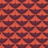 Tissu imprimé gamme envol paprika - 64
