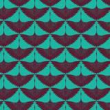 Tissu imprimé gamme envol turquoise - 64