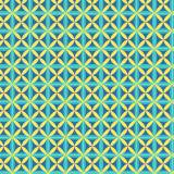 Tissu imprimé gamme fleur de vie bleu - 64