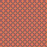 Tissu imprimé gamme fleur de vie orange sanguine - 64