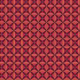 Tissu imprimé gamme fleur de vie paprika - 64