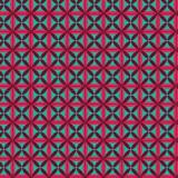 Tissu imprimé gamme fleur de vie turquoise - 64