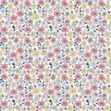 Tissu fleurettes Tissu pastels - 64