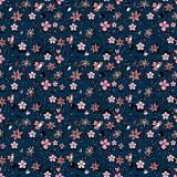 Tissu fleurettes romantique - 64