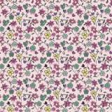 Tissu fleurettes Pensee - 64