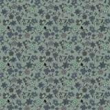 Tissu fleurettes celadon - 64