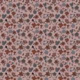 Tissu fleurettes argile - 64