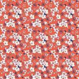 Tissu fleurettes automne - 64