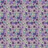 Tissu fleurettes lavande - 64