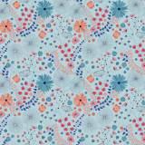 Tissu Grimpantes cosmos - 64