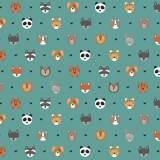 Tissu petits  animaux veronese - 64