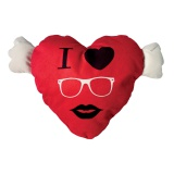 Coussin coeur i love - 64