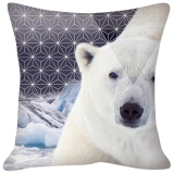 Coussin ours polaire - 64