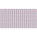 Tissu géometrique fleurs scandinaves - 64