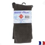 Collant douceur d'hiver t4 marron - 66