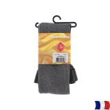 Collant doux 40d aspect chiné t1/2 noir - 66