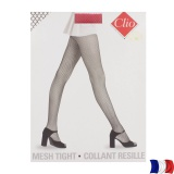Collant résille t3 rouge - 66