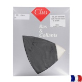 Collant archange t1/2 dentelle gris - 66