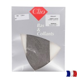 Collant aspect chiné t3/4 marron - 66