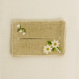 "Pochette pour mouchoirs ""edelweiss"""