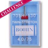 Aiguille machine twin-stretch -étui de 1- - 70