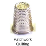 Dé patchwork étui 10 nø2-16.1mm - 70