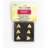 Motif triangle doré 10 mm s6 - 70
