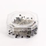 Épingle sebile noir - bte 100 - 70