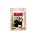 Extensions boutons 15mm noir x3 - 70