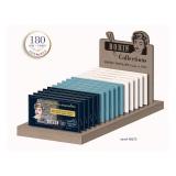 Présentoir bois 15 pochettes collection Aiguille - 70