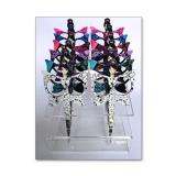 Ciseaux fantaisie dentelle - présentoir 12 - 70